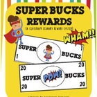 Super Hero Bucks Reward System {a classroom economy systems}