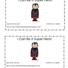 Super Hero Emergent Reader