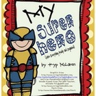 Super Hero Organizational Binder (Male Super Heroes)