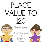 Super Hero Place Value 120