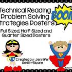 Super Hero Problem Solving Strategy Posters