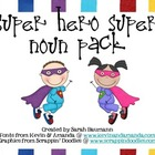 Super Hero Super Noun Pack