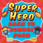 Super Hero Theme Back to School Pack