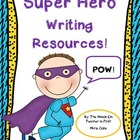 Super Hero Writing Pack