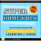 Super Homework: A Differentiated Homework Plan