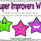 Super Improver Wall ~ Whole Brain Teaching