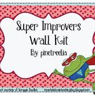 Super Improvers Wall Kit - Froggy Themed