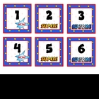 Super Kids Theme Calendar Numbers