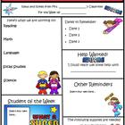 Super Kids Theme Newsletter Template - WORD