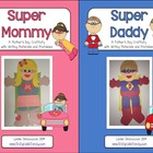 Super Mom and Super Dad Craftivity Bundle