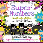 Super Numbers {18 Math Center Activities}