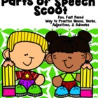 Super Parts of Speech Scoot: Nouns, Verbs, Adjectives, and