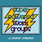 Super Powered Work Group Headers