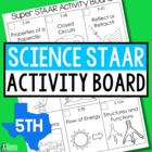 Super STAAR Activity Board {Science Stations}