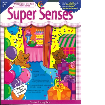 Super Senses a themeatic unit about the 5 Senses