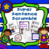 Super Sentence Scramble