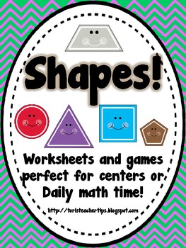 Super Shape Fun~ Grades 1-3