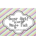 Super Sight Word Bingo