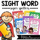 Super Sight Word Spellers! {fun spelling task cards}