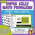 Super Silly Story Problems 2-digit Addition & Subtraction