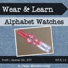Super-Simple Alphabet Bracelets, ABC Bands, Early Literacy Center