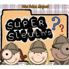 Super Sleuths: Mystery Unit
