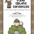 Super Sleuths Sentences