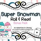 Super Snowmen Roll & Read Bonus Pack-26 games