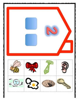 Super Sound Sorters Literacy Activity-Stretching Out Words