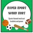 Super Sport Word Sort