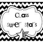 Super Stars Class Job Bulletin Board Set