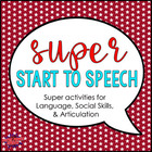 Super Start to Speech (Posters and Activities)