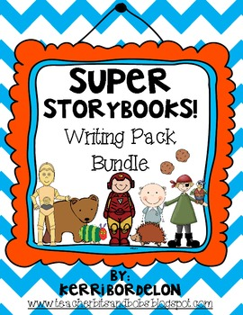 Super Storybooks! Writing Center Bundle