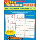 Super Sudodu Math Multiplication and Divsion Facts Book Gr