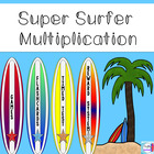 Super Surfer Multiplication: Games, Timed Tests, Flashcard