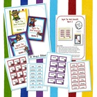 Super Word Scramble Bundled File Folder Game Kit