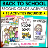 Super in Second! {Beginning of the Year Activities for 2nd Grade}