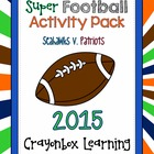 Superbowl Activity Packet, Math and Language, FOOTBALL