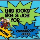 Superhero Classroom Jobs
