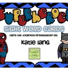 Superhero Sight Word Cards