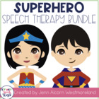 Superhero Speech & Language Bundle!