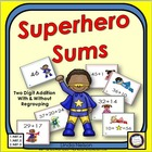 Superhero Sums Two-Digit Addition