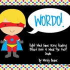 Superhero Wordo with Reading Street First Grade Unit 4 Sig