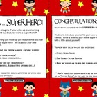 Superhero Writing Prompts