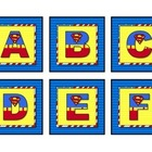 Superheroes Superman Word Wall Set