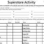 Superstore Shopping Activity