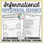 Supplemental Printables for the unit:'Informational Unit o