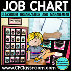 Job Chart Using Library Pockets {Tips for Managing Classro