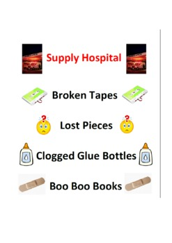 Supply Hospital Labels