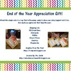 Support Staff Appreciation Note